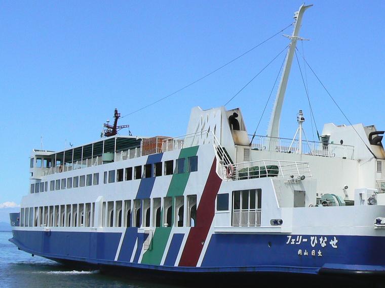 岡山日生港-小豆島大部港フェリー時刻表・運賃料金